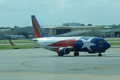 N352SW Boeing 737 Southwest Airlines Houston Hobby 24.07.2012 (G550) Tags: southwest one star houston hobby lone boeing airlines 737 n352sw 24072012
