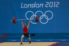IMG_7919 (neill_scog) Tags: b london group womens final finals mens weightlifting olympics weight 2012 lifting 75kg 85kg