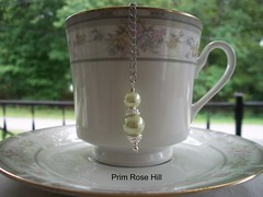 green pearl tea (Prim*Rose*Hill) Tags: tea infuser teaball