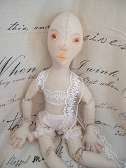 WIP - Sonnet (Jordan Taylor - The Free Folk) Tags: art antique feminine shakespeare romantic artdoll sonnet shabby clothdoll