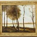 49. Antique Birch Forest Painting