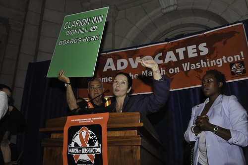 Keep the Promise on HIV/AIDS March on Washington (Day 1)