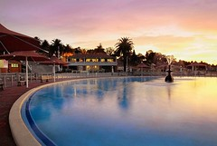 Sunset by the Pool (jimmy2407) Tags: australia victoria swimmingpool geelong easternbeach