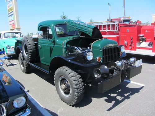 auto classic burlington truck washington offroad antique military pickup vehicle dodge tough carshow powerwagon
