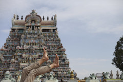 I like to fall in the temple (Scalino) Tags: india tower temple south sri tamil tamilnadu inde nadu trichy dravidian gopuram tiruchirapalli ranganathaswamy trichinopoly cheesenaan dravidien