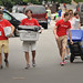 Student volunteers carry other students' gear up to their residence hall during Friday's move-in.MOVEIN.2012.1449