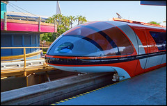 Monorail Monday - (Edition 43) (Coasterluver) Tags: station disneyland disney monorail tomorrowland monorailorange monorailmonday coasterluver monamonorail