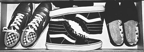 1156d7f5ca9583 This Month Collection (AimanFaiz) Tags  life blackandwhite bw shoes  skateboard kicks vans toms