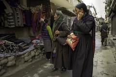 Street Leh1. Ladakh.Jammu kashmir.India (courregesg) Tags: people india women traditional streetlife kashmir himalaya ethnic leh ladakh gens jammu