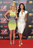 Tulisa Contostavlos, Nicole Scherzinger The X Factor - press launch held at the Corinthia Hotel. London, England
