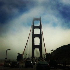 Golden Gate love (Double B Photography) Tags: square lofi squareformat iphoneography instagramapp uploaded:by=instagram