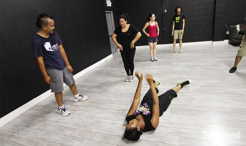 Gangnam Style Flash Mob Rehearsals