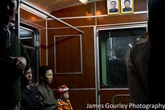 Pyongyang Metro (James Gourley Photography) Tags: cute weird child kim metro adorable il communism kimjongil winner northkorea pyongyang sung dprk kimilsung democraticpeoplesrepublicofkorea