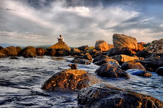 Dapdap rocks (marbleplaty) Tags: beach nature nikon rocks august bicol 2012 daraga legazpi albay d90 dapdap marbleplaty thechallengefactory paoloarroyo