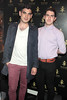 Colm Keane and Daniel McGough pictured at the opening of Wilde Bar Club and Venue in Wicklow Street,Dublin..Pic Brian McEvoy