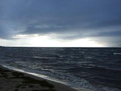 Bild 123 (Katrin Koser) Tags: ocean sky clouds licht meer himmel wolken ostsee schatten