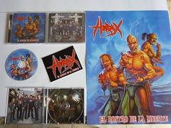 HIRAX  El Rostro De La Muerte cd, poster & sticker 2009. Released by: Kill Again Records (Brazil). (HIRAX Thrash Metal) Tags: destruction metallica slayer mekongdelta sod anthrax exodus helloween sepultura megadeth venom suicidaltendencies metalchurch kreator testament annihilator nuclearassault voivod celticfrost mercyfulfate