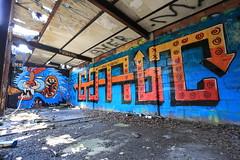 yok comet (Luna Park) Tags: ny nyc newyork queens forttilden graffiti yok comet lunapark pizza