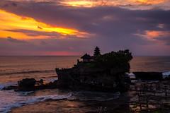 Tanah Lot Temple (Tim_Matthews) Tags: 2016 bali cloud focus nikon rock seascape sunsettmphotos temple timmatthewsphotography travel crowd d750 ocean publish water waves