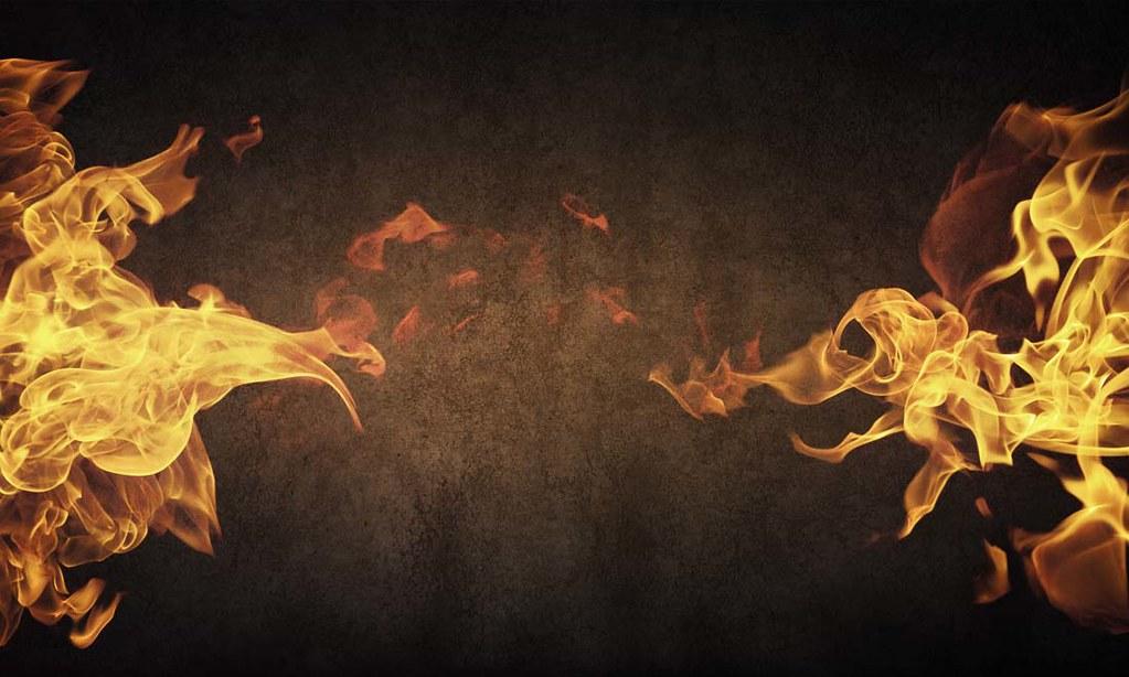 fiery glow burning sunset - photo #21