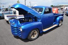 DSC_0322 (352Digz) Tags: pickup truck blue nikon d5000 1855mm kit lens 2016 17th annual ppg syracuse nationals ny state fairgrounds july street rods hot rat classics 15th 16th sooc