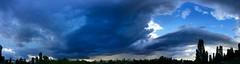 Der Himmel ber Berlin (abbilder) Tags: berlin mauerpark prenzlauer berg sturm storm weather wetter sky himmel wolken cloud iphone abbilder wwwabbildercom sunday panorama blue blau summer sommer twop