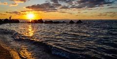 Sunset Sicily (pietronaccari) Tags: sunset sicily sicilia italy italia nikond5100 nikon colors landscape ngc beautiful summer messina eolie