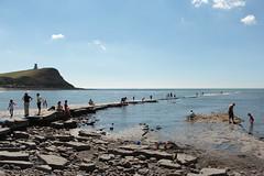 IMG_5960 (alicoombe) Tags: rockpools tourists sea summer bay kimmeridge