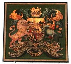 Pebworth, Worcestershire (Sheepdog Rex) Tags: royalarms stpeterschurch pebworth