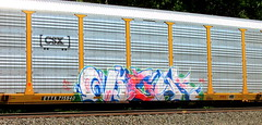 night (timetomakethepasta) Tags: night gns goonies acer are2 freight train graffiti art csx autorack ttx
