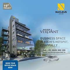 Introducing our 19th project, Nucleus Verdant - The Business Lounge at Kochi's hotspot, Edappally.  Focusing on the everyday rather than on spectacle, style, and event, we strive to create a work design that would connect people to one another that could (nucleusproperties) Tags: life beautiful lounge officespace kochi elegant style businesslounge kerala india luxury comfort nature architecture interior gorgeous design elegance beauty building realestate exquisite view office business city construction atmosphere home living
