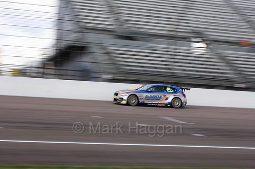 Sam Tordoff heads to the grid at Rockingham, August 2016