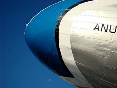 Varig (Gijlmar) Tags: airport airplane varig sky cu azul blue blau bleu moon lua brasil brazil brasilien brsil brasile brazili portoalegre  riograndedosul amricadosul amricadelsur southamerica amriquedusud