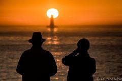 _D817004-Magical Metaphoric Four (Brestitude) Tags: phare lighthouse four porspoder couple silhouette sunset coucher soleil finistère été summer bretagne brittany breizh mer sea iroise brestitude ©laurentnevo2016