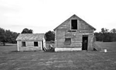 Past Tense (drei88) Tags: gaping empty bleak stark bleached weathered borrowedtime rural geaugacounty ohio barn farm forlorn hammock easterbunny