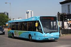 Ipswich Buses, 151 (YK08EPU) (Thomas O'Neill Transport Photos) Tags: ipswich buses 151 optare v1110 versa yk08epu