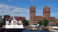 Oslo rdhus (Odd Stiansen) Tags: ms huldra oslo norgenorway sommer