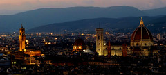 Firenze (Miradortigre) Tags: firenze florencia florence night noche nocturna blue hour toscana tuscany italia italy italien