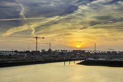 Hamburg Hafencity (mandykunz) Tags: hamburg hafencity sonnenaufgang hdr