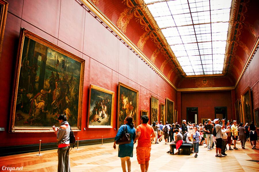 2016.09.04 ▐ 看我的歐行腿▐ 法國巴黎羅浮宮,金屋藏嬌裡的那抹淺淺微笑 15