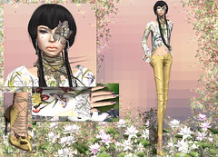 JUMO - Dee Marie Outfit (Rehana MiSS SLVietnam, Face of CHOP ZUEY 2015) Tags: sl secondlife fashion rehana rehanaseljan newrelease jumo chopzuey gizza slink laboheme shi themakeoverroom posesion