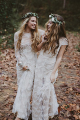 03-Immacle-Wedding-Dresses-Bohemian-Bride_Cool-Chic-Style-Fashion (Cool Chic Style Fashion) Tags: weddings bridal novias matrimonio abitodasposa sposa lacedress
