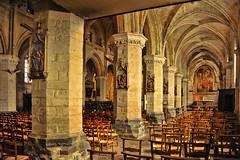 St Saulve-Montreuil s/Mer (Don Pedro de Carrion de los Condes !) Tags: donpedro d700 st saulve stsaulve kerk interieur pasdecalais cotedopale religie saint abbatiale