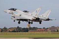 PAIRS LANDING (MANX NORTON) Tags: raf bbmf dakota coningsby lancaster spitfire hurricane typhoon eurofighter