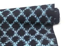 Japanese Kasuri / Ikat (FurugiStar) Tags: kasuri ikat japanese vintage cotton textile fabric indigo traditional folk furugistar fiber art blue white bingo