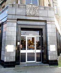 Doorway, Pagan Osborne, Morningside, Edinburgh (jackdeightonsf) Tags: paganosborne morningside edinburgh artdeco