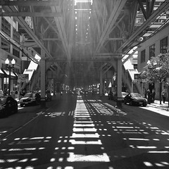 L (michael.veltman) Tags: chicago train subway el transit l elevated mass