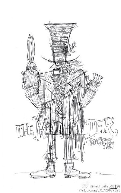 Michael Lau的最新作品The Mad Hatter瘋狂帽客