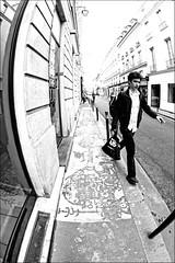 parisian boy in the street (aerosmiss) Tags: street boy urban man paris walk aerosmiss