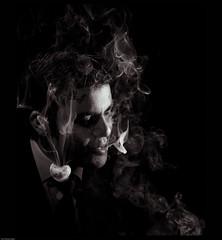 (hassan.saeed) Tags: old blackandwhite project grid smoke assignment dressup retro smoking suit don speedlight mafia gobo cigarrettes filmnoir zakir hardlight suitup twolight strobist102 restrictedlight